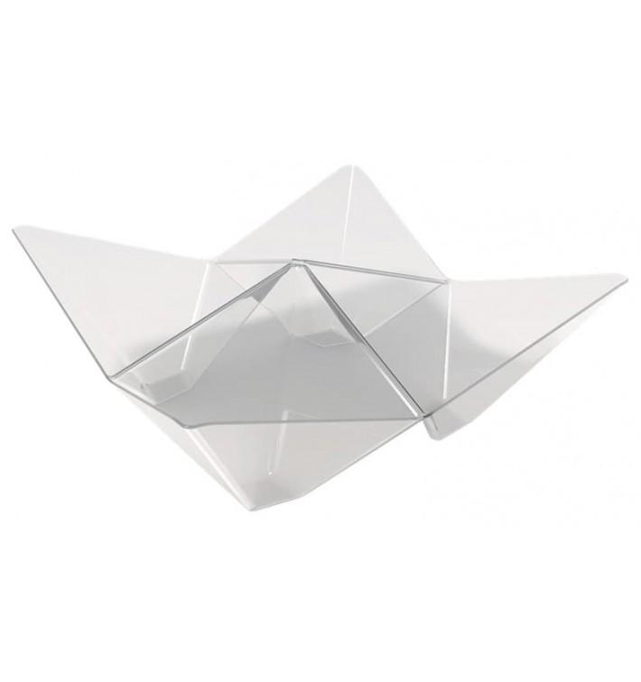 Bol Degustación Origami PS Transparente 103x103mm (500 Uds)