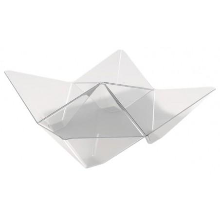 Bol Degustación Origami PS Transparente 103x103mm (500 Unidades)