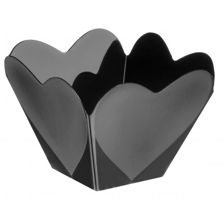 """Bol de Plástico """"Cupido"""" Negro 68 ml (500 Uds)"""