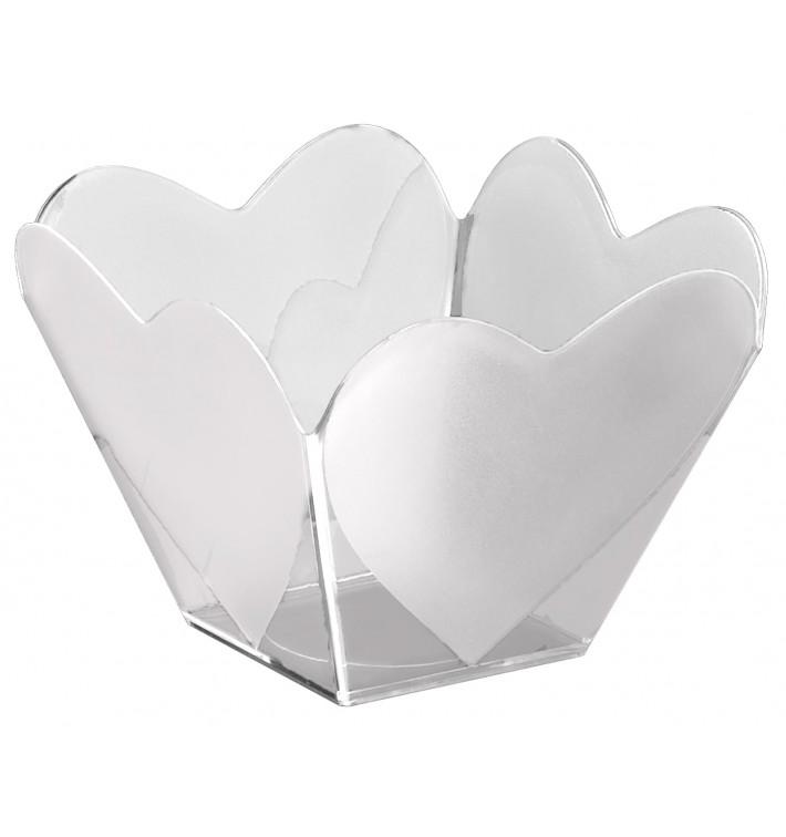 "Bol de Plástico ""Cupido"" Transparente 68 ml (500 Uds)"