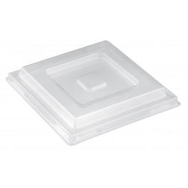 Tapa Bol Pagoda Maxi Transparente PET 13,2 cm (10 Uds)