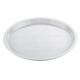 Bandeja Plastico Tray Blanca Ø32cm (25 Uds)