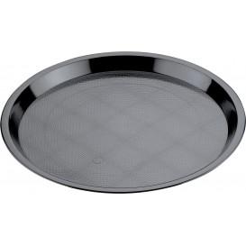 Bandeja Plastico Tray Negra Ø32cm (5 Uds)