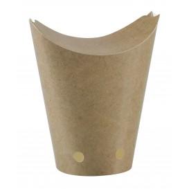 Caja cerrada de Comida para Llevar Kraft 325ml (1000 Uds)