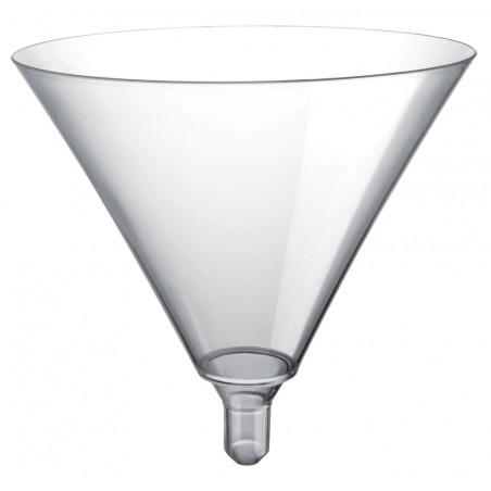 Copa de Plastico Cocktail Sommelier Transp 185ml (20 Uds)