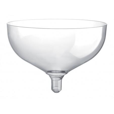 Copa de Plastico Champan Sommelier Transp 200ml (20 Uds)