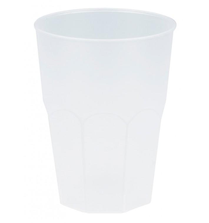 """Vaso de Plastico """"Frost"""" Blanco PP 350ml (20 Uds)"""