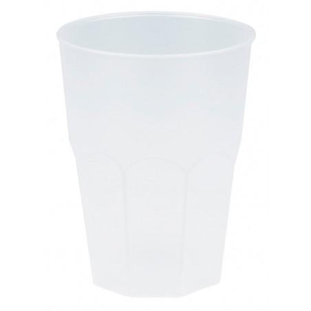 """Vaso de Plastico """"Frost"""" Blanco PP 350ml (200 Uds)"""