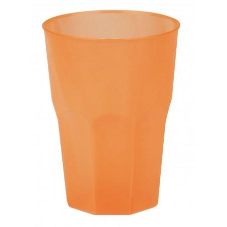 "Vaso de Plastico ""Frost"" Naranja PP 350ml (420 Uds)"