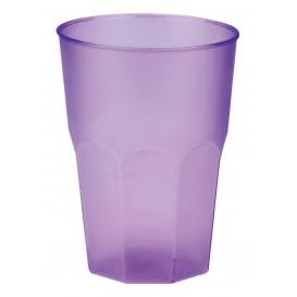 """Vaso de Plastico """"Frost"""" Lila PP 350ml (20 Uds)"""