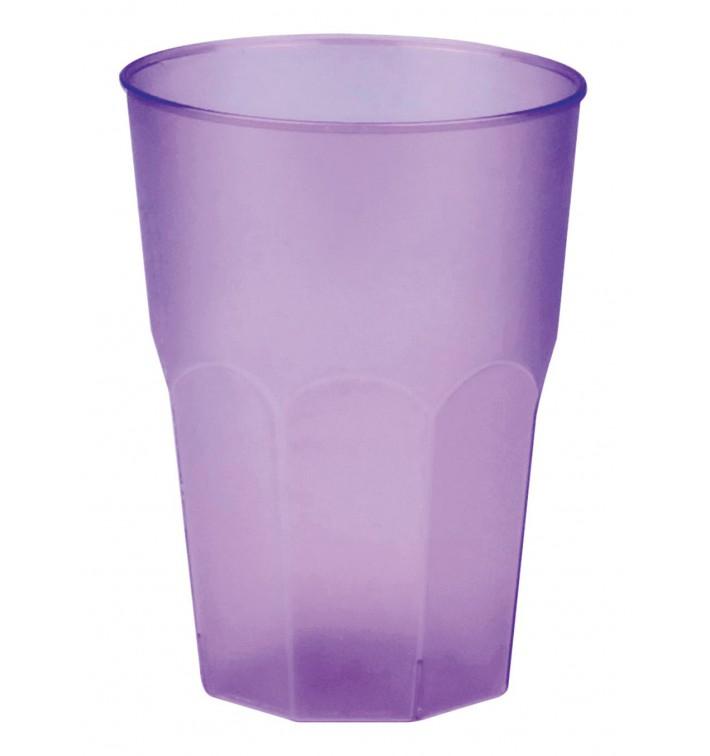 """Vaso de Plastico """"Frost"""" Lila PP 350ml (200 Uds)"""