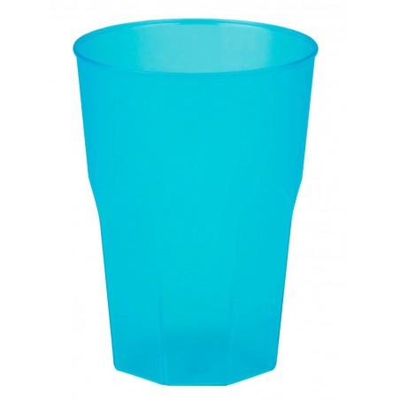 Vaso de Plastico Turquesa PP 350ml (20 Uds)