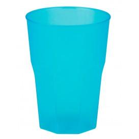 Vaso de Plastico Turquesa PP 350ml (200 Uds)