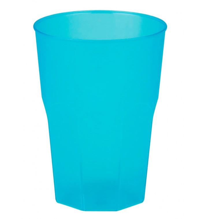 "Vaso de Plastico ""Frost"" Turquesa PP 350ml (200 Uds)"