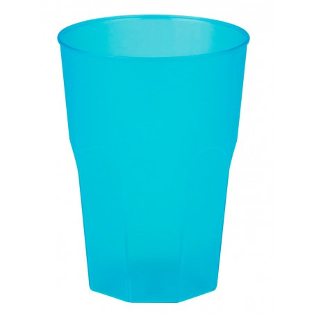 "Vaso de Plastico ""Frost"" Turquesa PP 350ml (420 Uds)"