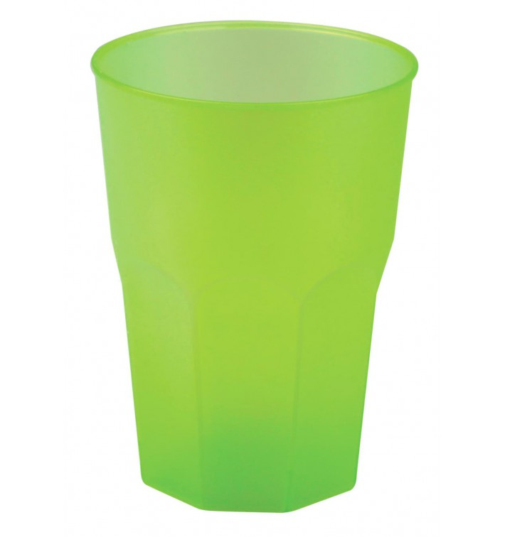 "Vaso de Plastico ""Frost"" Verde Lima PP 350ml (420 Uds)"