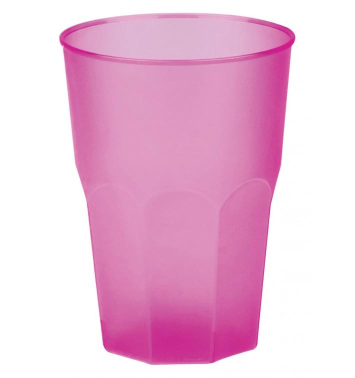 "Vaso de Plastico ""Frost"" Fucsia PP 350ml (420 Uds)"