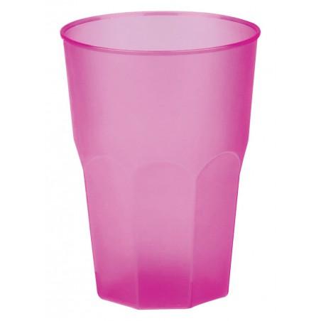 "Vaso de Plastico ""Frost"" Fucsia PP 350ml (200 Uds)"
