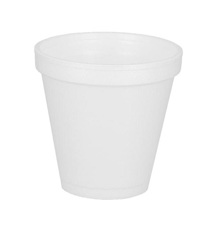Vaso Termico Foam EPS 6Oz/180ml Ø7,4cm (1000 Unidades)