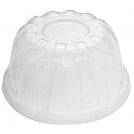 Tapa Alta Plastico PS Transparente para Foam Ø11,7cm (50 Uds)