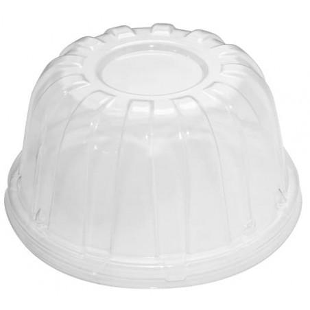 Tapa Alta Plastico PS Transparente Ø11,7cm (50 Uds)