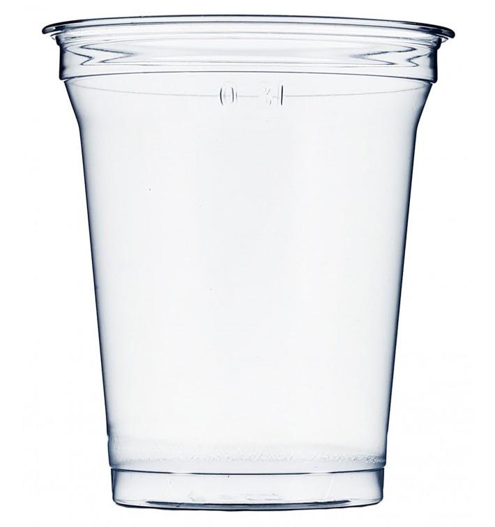 Vaso de Plástico Rígido de PET 420ml Ø9,3cm (50 Uds)