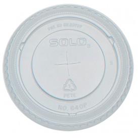 Tapa Cruz Para Vaso PET Solo Ultra Clear 12Oz/355ml (2500 Uds)