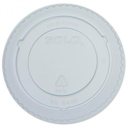 Tapa Cerrada Para Vaso PET Solo Ultra Clear 12Oz/355ml (100 Uds)