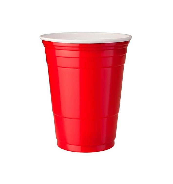 Vaso Rojo Americano para Fiestas 470ml (1000 Uds)