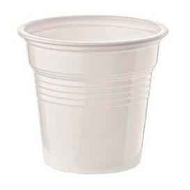 Vaso de Plastico PS Blanco 80ml Ø5,7cm (50 Uds)