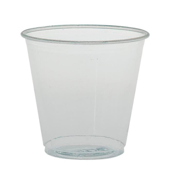 Vaso de Plástico PS 104ml Ø6,2cm (100 Uds)