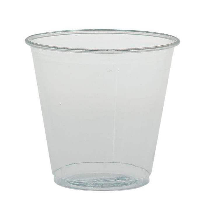 Vaso de Plástico PS 104ml Ø6,2cm (2.500 Uds)