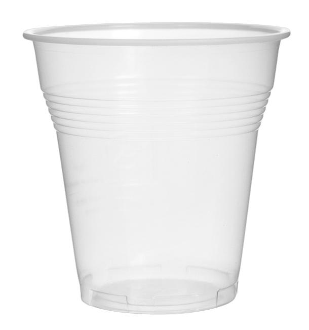 Vaso de Plastico PS Vending Transparente 160 ml (3.000 Uds)