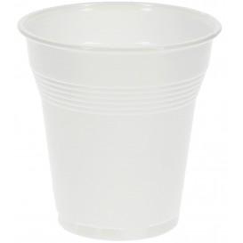 Vaso de Plastico PS Vending Blanco 160 ml (100 Unidades)