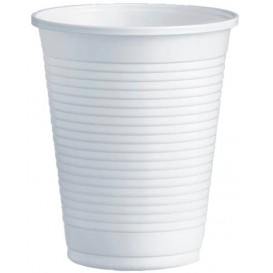 Vaso de Plastico PS Blanco 200ml Ø7,0cm (100 Uds)