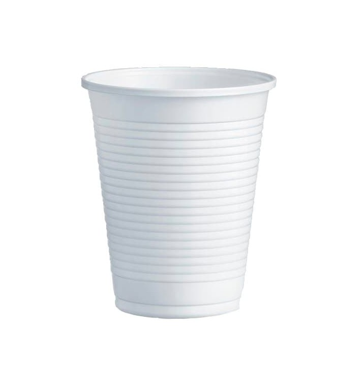 Vaso de Plastico PS Blanco 200ml Ø7,0cm (3000 Uds)