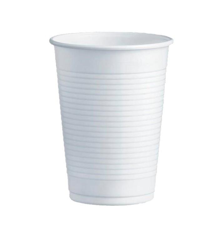 Vaso de Plastico PS Blanco 230ml Ø7,0cm (3000 Uds)