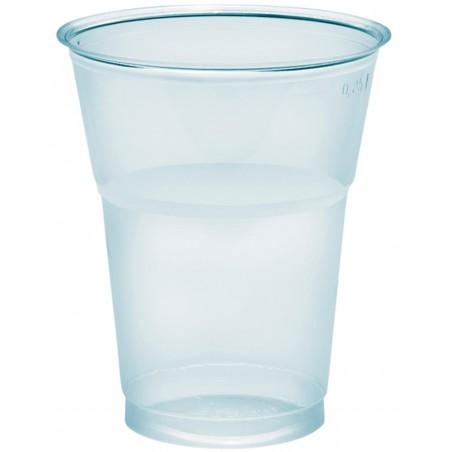 """Vaso Plastico """"Diamant"""" PS Cristal 300ml Ø8cm (50 Uds)"""