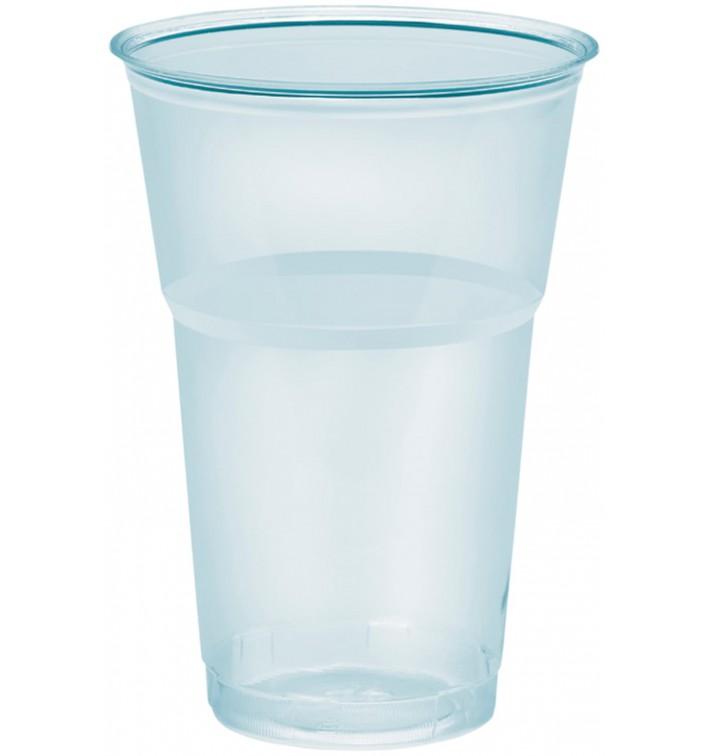 """Vaso Plastico """"Diamant"""" PS Cristal 390ml Ø8,0cm (50 Uds)"""