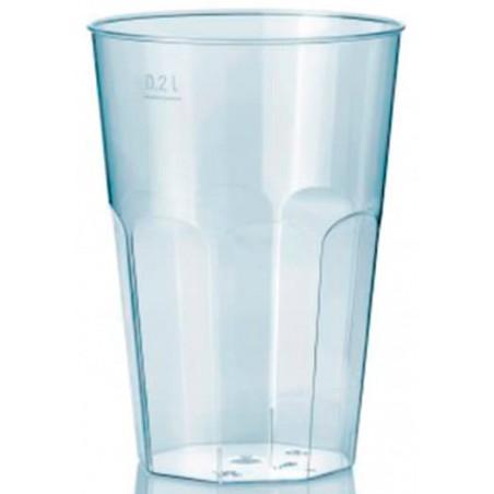 """Vaso """"Deco"""" PS Transparente Cristal 200 ml (500 Unidades)"""