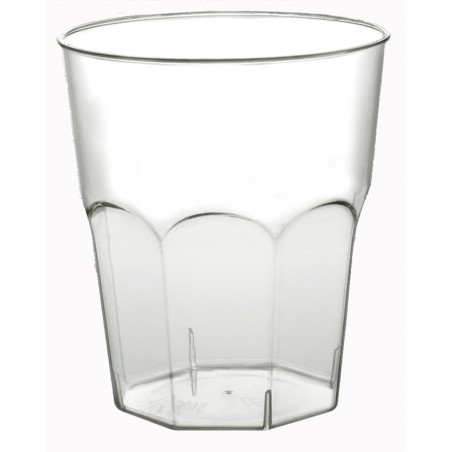 Vaso Plastico para Cocktail Transp. PS  Ø73mm 200ml (50 Uds)