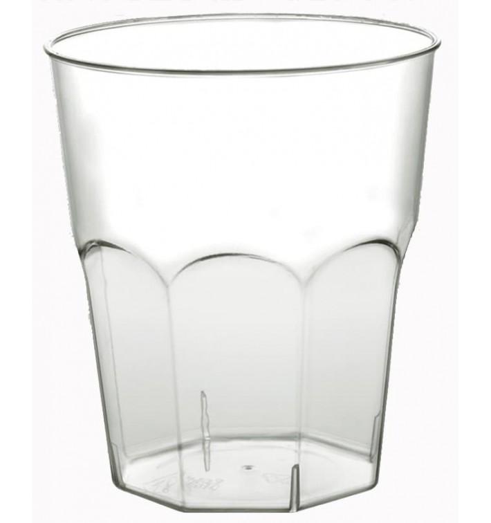 Vaso Plastico Cocktail Transp. PS  Ø73mm 220ml (50 Uds)