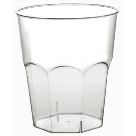 Vaso Plastico para Cocktail Transp. PS  Ø73mm 220ml (50 Uds)
