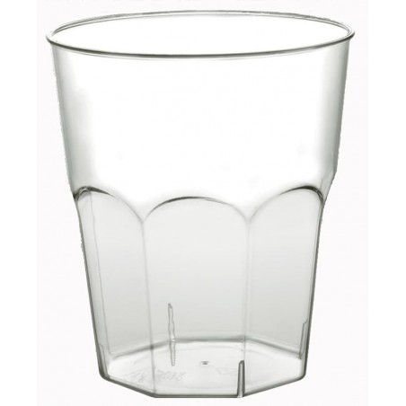 Vaso Plastico Cocktail Transp. PS Ø84mm 270ml (20 Uds)