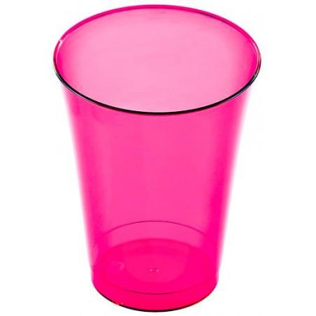 Vaso Inyectado Frambuesa 230 ml (10 Uds)