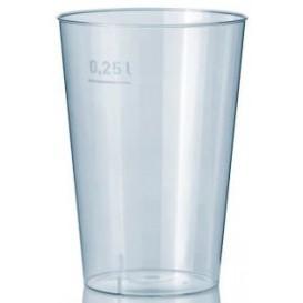 Vaso de Plastico Transparente 250 ml (1000 Uds)