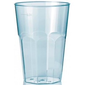"Vaso ""Deco"" PS Transparente Cristal 300 ml (30 Unidades)"
