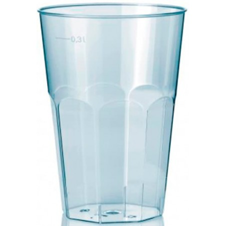 """Vaso """"Deco"""" PS Transparente Cristal 300 ml (30 Unidades)"""