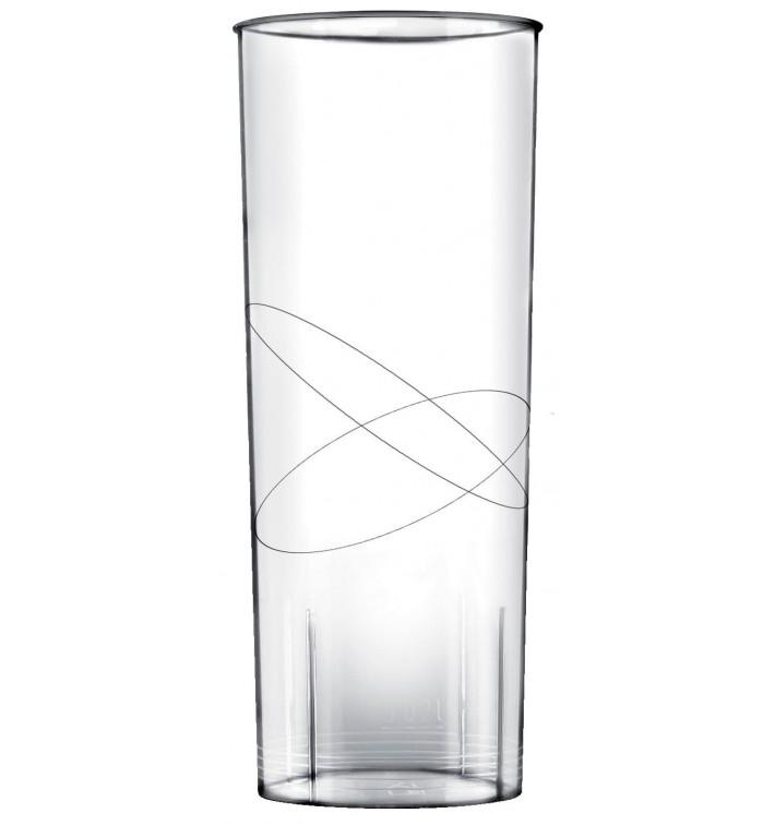 Vaso de Plastico Moon Transparente PS 300ml (240 Uds)
