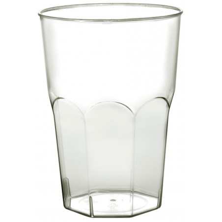 Vaso Plastico para Cocktail Transp. PS Ø84mm 350ml (420 Uds)